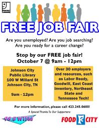 Free Job Fair Goodwill Of Tenneva Area