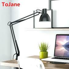 wondrous swing arm desk lamp design long lamps office with usb port