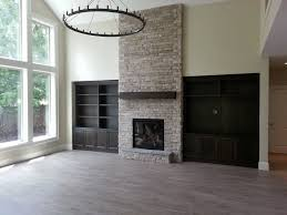 Fireplace Built Ins Fireplace Indoor Fireplace Stone To Ceiling Gas Fireplace