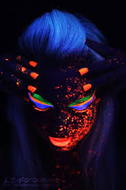 black light black light makeupblacklight partyglow