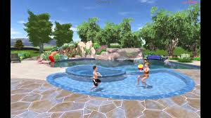 residential indoor pool with slide. Residential Swimming Pool Renovation Indoor With Slide T