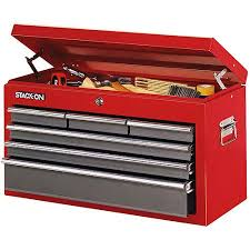 walmart tool box. stack on 6 drawer steel tool chest walmart box o