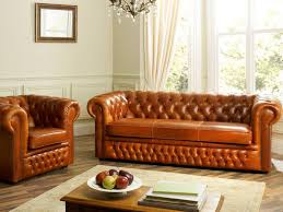 image of living room ideas with chesterfield sofa