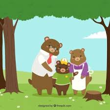 Image result for bears in woods cartoon