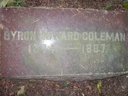 Byron Howard Coleman (1874-1887) - Find A Grave Memorial