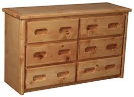 solid pine dresser. Beautiful Pine Trend Wood Bunkhouse Dresser And Solid Pine D