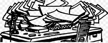 messy desk clipart. Delighful Desk Desk Office Clip Art  Messy Throughout Messy Clipart E