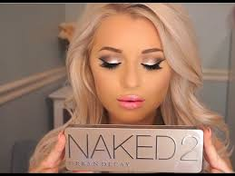 urban decay 2 palette makeup tutorial