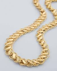 designer mens chains striking golden chain with leaf pattern voylla