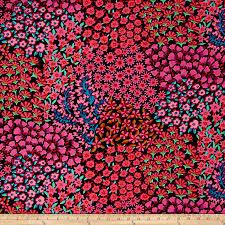 Persian Design Fabric Freespirit Fabrics 0465246 Kaffe Fassett Persian Garden Black Fabric By The Yard