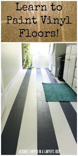 learn how to paint vinyl floors for long lasting results
