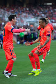 Goals Bt Ween Messi And Neymar Jr Sevilla FC v FC Barcelona La Liga Neymar jr Lionel messi and 13 115616