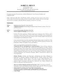 Paralegal Resume Samples Personal Injury Paralegal Job Description