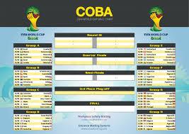 Fifa World Cup 2014 Chart Visual Ly