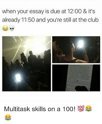 ✅ best memes about multitask multitask memes memes 🤖 and still when your essay is due at 12 00