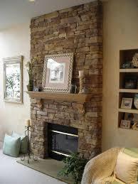 Natural Stone Fireplace Ravishing Living Room Decoration Amazing Natural Exposed Stone