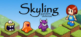 Skyling Garden Defense A Fun And Frantic Maze Game With Classic Arcade Style