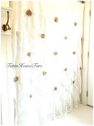 target white linen curtains white linen curtains linen curtains white target burlap ruffle shower curtain cotton