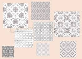moroccan style tiles style tiles ornament vector pattern print taupe colors geometric seamless backdrop stock vector moroccan style vinyl floor tiles uk