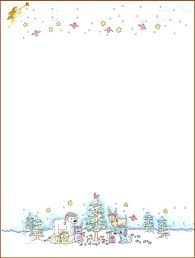 Free Word Stationery Templates Letterhead Templates For Word Stationery Downloads Christmas