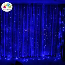 Fancydream 3*3 m ĐÈN LED Dây Đèn Sạc Lễ Hội Cưới Nhà Sổ Đèn Trang Trí
