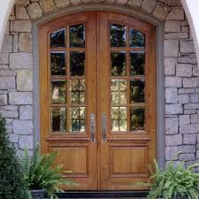 french front doorsArched Teak Double French Front Door with Frame  Paul San Jose