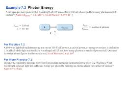 example 7 2 photon energy for practice 7 2 for more practice 7 2