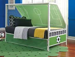 Soccer Themed Bedroom Score Big With This Soccer Theme Bed Goal Keeper  Daybed Grand Home Furnishings . Soccer Themed Bedroom ...