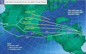 Polar Routes Charts What Happens If A Plane Has Engine Trouble Over The North