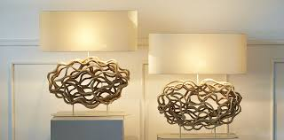 driftwood lamps mother of pearl lighting handmade ceramic lamps gallery image 1