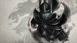 dota 2 loading screen phantom assassin wallpaper no 233599