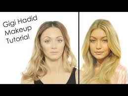gigi hadid victoria s secret fashion show makeup tutorial you