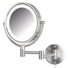 full size of vanity cordless led lighted wall mounted mirror best hardwired lighted makeup mirror