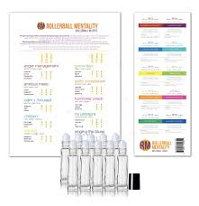 Rollerball Dilution Chart Rollerball Mentality Diy Kit 3rd Edition Includes 10 Roller Bottles