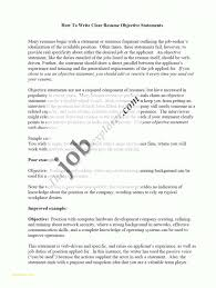 Samples Of Resume Writing And I Need Good Objective Statement For My