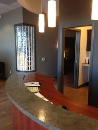 front office designs. our custom chiropractic designs help deliver a personalized office layout that will increase the effectiveness of your practice and with healing front b