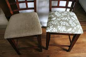 Upholstering Dining Room Chairs Excellent Diy Re Upholster Your Extraordinary Reupholstered Dining Room Chairs