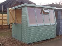 hampshire pent potting shed