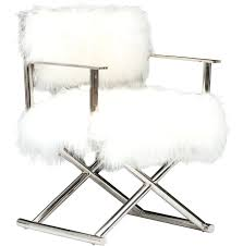 faux fur furniture chair dining chairs