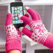 Зимние вязаные <b>сенсорный</b> экран <b>перчатки</b> женские мужские ...