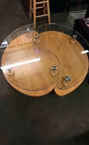 ying yang coffee table yin yang coffee table yang coffee table tables yin yang glass round ying yang coffee table