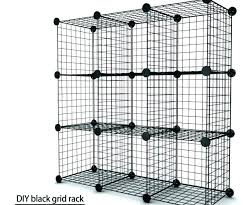 wire storage cubes connectors medium size of distinguished grid modular shelving cube shelf full image for