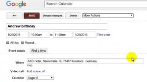 how to invite people for an event in google calendar