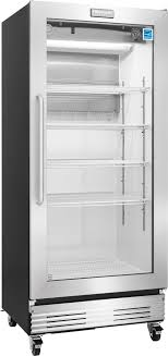 ft commercial glass door refrigerator