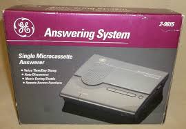 Ge Remote Access New Ge Answering Machine System 2 9815 1278