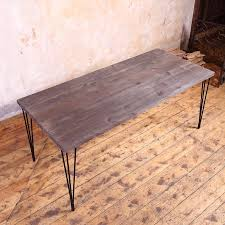 Industrial Style Dining Room Tables Industrial Style Dining Furniture Loft Iron Wood Furniture