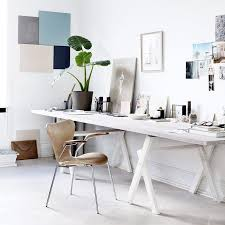 Simple Office Design Impressive Pin By Briton On A C 48 48 R Pinterest Trestle Tables Office