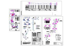 Готовые чертежи Проекты инженерных коммуникаций в формате  Курсовой проект Теплосеть в бесканальном исполнении с ОДК