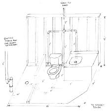 basement bathroom plumbing. Bathroom Plumbing Layout Standard Basic Rough In Basement
