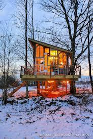 pete nelson s tree houses. Nelson Treehouse Catskills Glasshouse Pete S Tree Houses M
